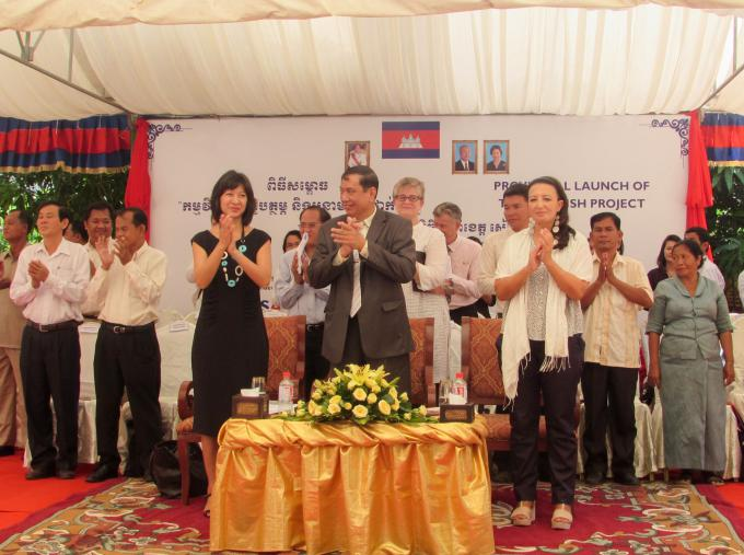 The nourish project officially launched in siem reap province cambodia save the children - Save the children press office ...