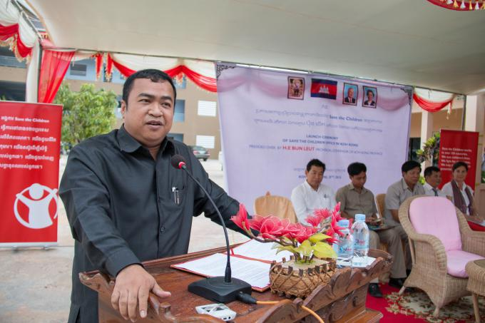 Save the children provincial office launched cambodia save the children - Save the children press office ...