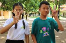 Cambodian Sign Language Alphabet Song