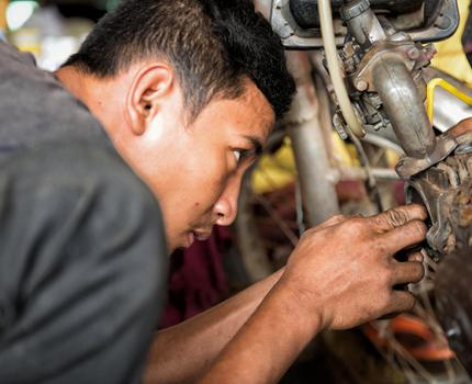 Vocational Training Gives Hope
