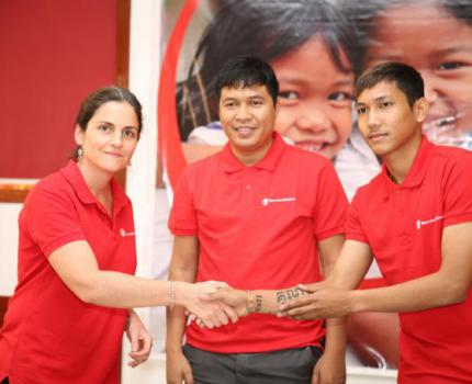 Cambodian Football Superstar Vathanaka Announces Role as Save the Children's Goodwill Ambassador