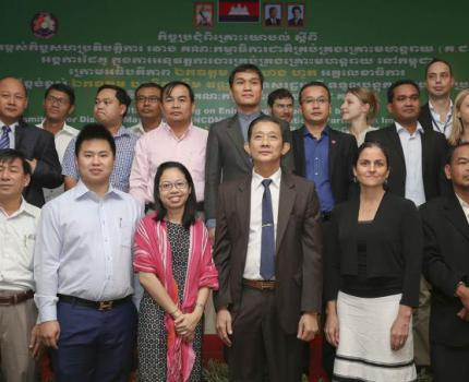 National and International Disaster Management Agencies Enhance Their Cooperation