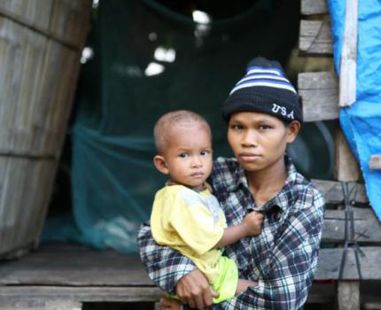 Alarming increase in number of teenage mothers in Cambodia puts health of youngest children at risk