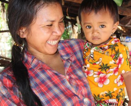 Helping Cambodian Children Grow with Practical Solutions