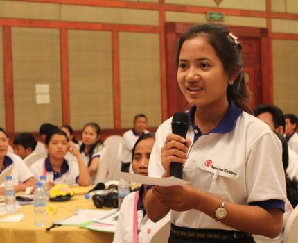 From excluded girl to child leader