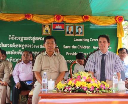 Save the Children Launches an Area-West Office in Kampong Chhnang