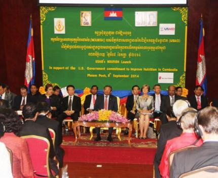 Save the Children NOURISH Project Launched to Combat Chronic Malnutrition in Cambodia