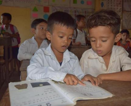 A mother's active participation in her child's education produces a young role model