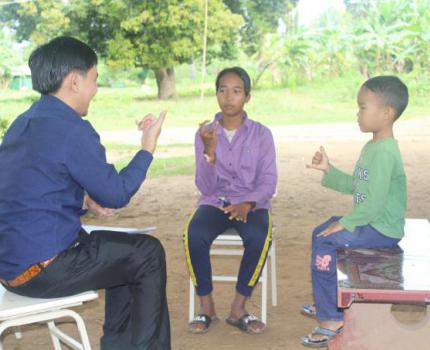 Sign Language Brings Optimism to Isolated Students