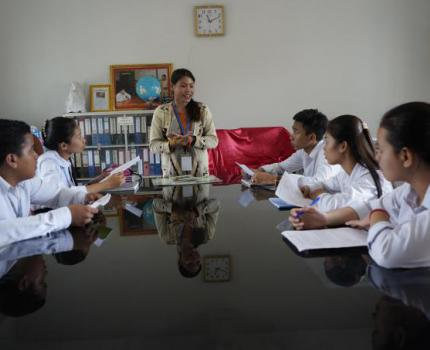 Youth leadership brings children's voices to UN child rights reporting